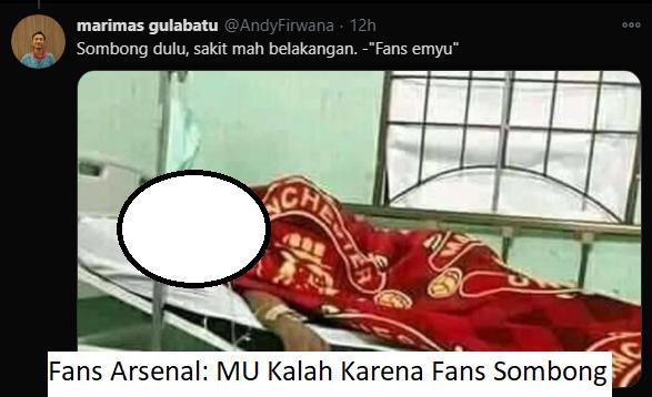 MU Kalah Karena Fans Sombong